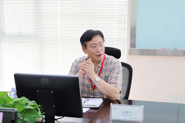 公司党委书记、董事长王成立赴国核维科、西北锆南通..